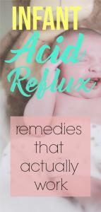 infant acid reflux solutions