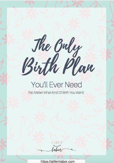 birth plan, birth plan template, simple birth plan, easy birth plan, visual birth plan