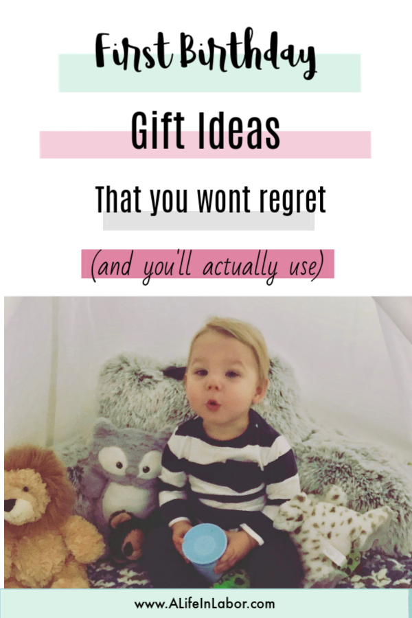 first birthday gift ideas that you won't regret and that your child will actually use.