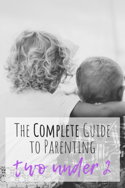 Guide to parenting two under 2