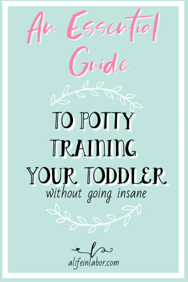 Potty training a boy when they are under two years old wasn't something that I expected to be easy. But it wasn't nearly as bad as I thought it was going to. I'm sharing my secrets here. #pottytraining #pottytrainingboys #pottytrainingundertwo #pottytrainingtoddlers