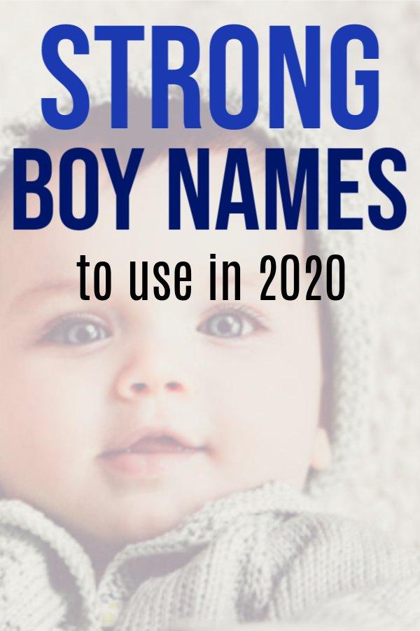 strong boy names