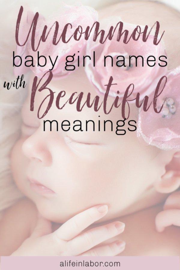 uncommon girl names