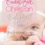 christian baby girl names