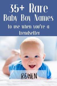 rare baby boy names