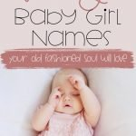 vintage baby girl names